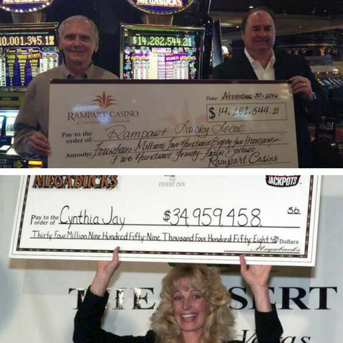 ラスベガスで最高のカジノ勝利金